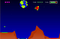 Lunar Lander game flash